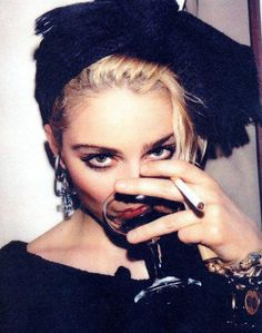 Madonna at Danceteria in 1983 #celebrities
