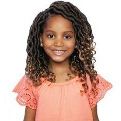 Kid Braid Styles, Crochet Braid Styles, Hair Styles, Crochet Braids For Kids, Synthetic Dreads, Braid In Hair Extensions, Goddess Braids, Faux Locs, Twist Braids