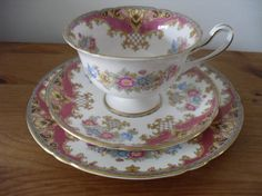 Exquisite Shelley Tea Cup Saucer and Side Plate by SophiesCupboard, £25.00