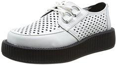 T.U.K. Viva Low Round Creepers, Damen Sneaker  Weiß weiß 37 - http://on-line-kaufen.de/t-u-k/37-eu-t-u-k-viva-low-round-creepers-damen-sneaker-5