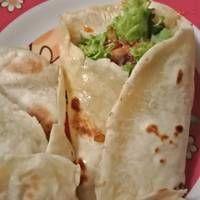 Tortilla Homemade Kulit Kebab Tortillas Makanan Olahan Resep Masakan