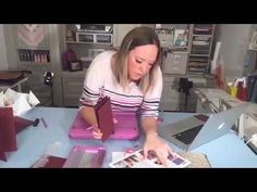 Card Folding 101 - Stepper Card, Gatefold & Easel Cards - YouTube