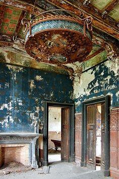 Villa Grosso di Grana in the Piedmont region of Italy.
