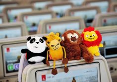 Emirates launches new toys for young travellers, the Fly with Me Animals for…