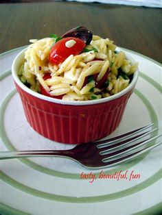 Mediterranean Orzo Salad | Domesticated Academic