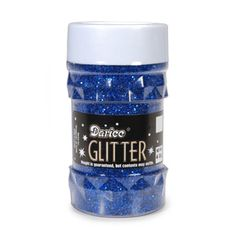 Darice® Royal Blue Glitter Jar: 4 ounces