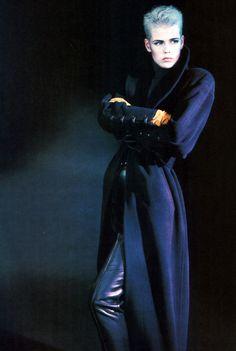 Claude Montana, American Vogue, September 1986.