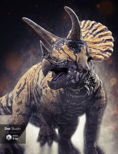 HH Triceratops is a prehistoric animal, animals for Daz Studio or Poser created by Herschel Hoffmeyer. Dinosaur Wallpaper, Lion Wallpaper, Dinosaur Images, Dinosaur Pictures, Dinosaur Drawing, Dinosaur Art, Prehistoric Dinosaurs, Prehistoric Creatures, Realistic Animal Drawings