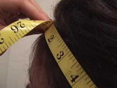 Detailed Video Description how to measure your head size for your custom wig. Wig Making, Wig Styles, Hair Pieces, My Hair, Extensions, Wigs, Hair Care, Youtube, How To Make