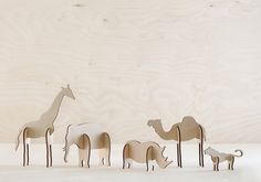 Plywood Animals