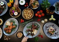 As indigenous Australians allowed the local terrain to dictate their key ingredients, you can consider building dishes around native produce and accom. Aboriginal Food, Wild Edibles, Dishes, Aussies, Dish, Kitchens, Plate, Utensils