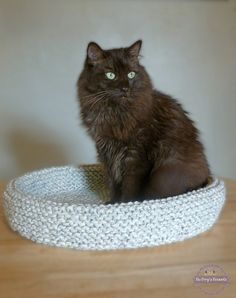 Ravelry: Cat Bed pattern by Bo Peep's Bonnets
