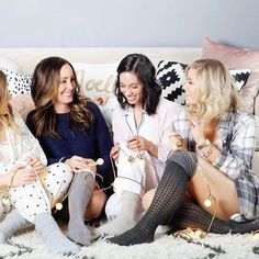 Sharing the coziest pajamas for the holidays and enjoying a Christmas pajama party with these cuties! Seriously wish I was still lounging in my pjs! It's freezing out there ☃️☃️ Shop all of our pjs with @liketoknow.it http://liketk.it/2pSXU #liketkit #ltkholiday #ltkholidaylook #blogger #pajamaparty :camera: @julieanne514