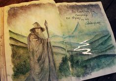 Tolkien Traditional by Kinko-White on deviantART