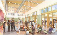 school rendering: The Philadelphia school