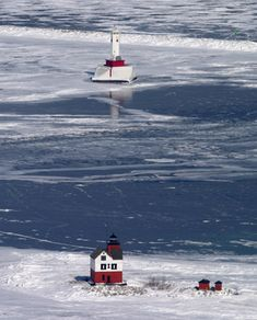 Round Island Lighthouse, Mackinac Straights