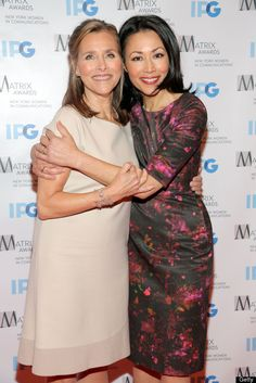 Meredith Vieira & Ann Curry (I am on team Ann) These two were the best of the best! I quit watching the Today show when Ann was thrown under the Matt Lauer/BBC bus. I watch Robin now! Ann Curry, Anna Love, Amy Robach, Matt Lauer, Katie Couric, Kodak Moment, Female Hero, She Is Clothed, Important People