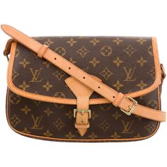 Pre-owned Louis Vuitton Monogram Sologne Crossbody ($695) ❤ liked on Polyvore featuring bags, handbags, shoulder bags, brown, louis vuitton handbags, louis vuitton crossbody, hand bags, louis vuitton shoulder bag and brown crossbody purse