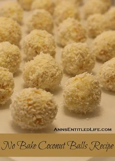 No Bake Coconut Balls With Sugar, Unsalted Butter, Powdered Milk, Coconut Flakes, Corn Flakes, Almond Extract, Roasted Almonds