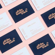 Modern branding with a hint of dainty!