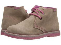 Pablosky Kids - 4354 (Toddler/Little Kid) (Tan Suede) Girl's Shoes