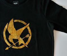 Sweet Verbena: Hunger Games T-Shirt: a tutorial