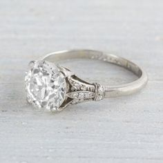 Picture 2 of 3 Art deco engagement ring Details about Certified Gorgeous Brilliant Moissanite Engagement Ring in White Gold Cool Wedding Rings, Wedding Rings Solitaire, Wedding Rings Vintage, Bridal Rings, Wedding Bands, Engagement Rings Sale, Beautiful Engagement Rings, Vintage Engagement Rings, Diamond Engagement Rings