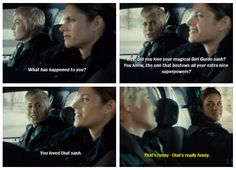 Rookie Blue Season 5 Episode 8 Gail and Andy