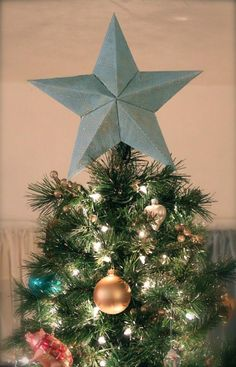 DIY STAR : DIY STAR TREE TOPPER Explained