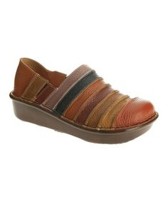 Look what I found on #zulily! Camel Firefly Leather Platform Clog by Spring Step #zulilyfinds