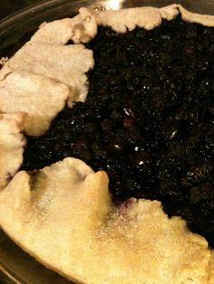 Pie Dough---Blueberry Crostata   Chef Gluten Freek