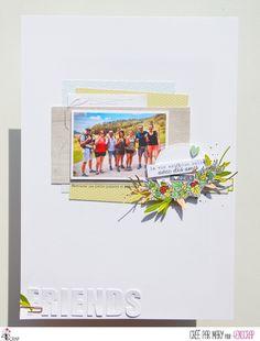 """Mary : #Tampons et #matrices de coupe #dies #4enSCRAP """"L'amitié est précieuse"""" #texte #scrapbooking #DIY #loisirscréatifs #carte #carterie Mini Albums, Photo Souvenir, Tampons Transparents, Creations, Friends, Scrapbooking Diy, Blog, Roses, Inspiration"""