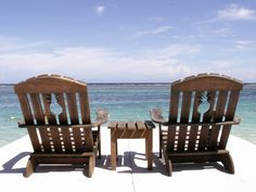 Jamaica - Hope to sit in these chairs someday! Fun Vacations, Vacation Destinations, Vacation Spots, Oh The Places You'll Go, Places Ive Been, Beautiful World, Beautiful Places, Jamaica Honeymoon, Wonderful Dream