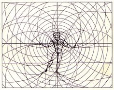 A selection of graphics from Bauhaus publications - Organic man: movements and emanations create an imaginary space by oliver.tomas, via Flickr