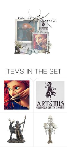 """""""Disney Crossover - Camp Half-Blood"""" by phreak ❤ liked on Polyvore featuring art"""