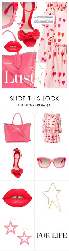 """""""Head to Toe: Alexander McQueen"""" by cultofsharon ❤ liked on Polyvore featuring Alexander McQueen and Jennifer Fisher"""