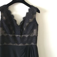 JS Collection Black Lace Dress. Worn only once! It's a size 2 but runs small. Feels like size 00. Gorgeous little black dress. Bought from Nordstrom last year.trade JS Collection Dresses Midi