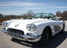 1960 Chevy #Corvette  by John Telfer