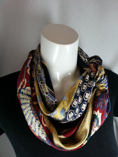 Save+Money+on+Two+Silk+Cowl+Infinity+Scaves+from+Neck+by+ByTulle