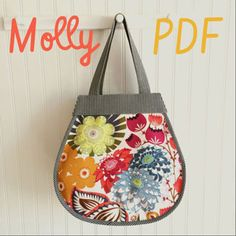 Michelle Lizcano Molly Market Tote - Downloadable Pattern