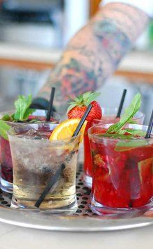 Summertime Happy Hour #drinks #summer #cocktails