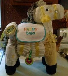 Horse Diaper Cake made by Memorable Events
