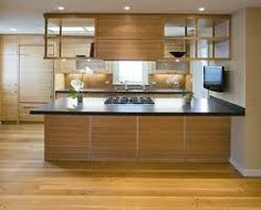 overhead kitchen peninsula shelf - Google Search