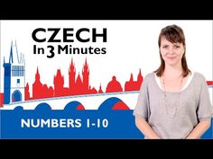 Learn Czech - Do You Speak English? - Czech in Three Minutes Packing List For Cruise, Numbers 1 10, Vocabulary List, Prague Travel, Learning Goals, Learning Arabic, Space Travel, My Heritage, Great Videos