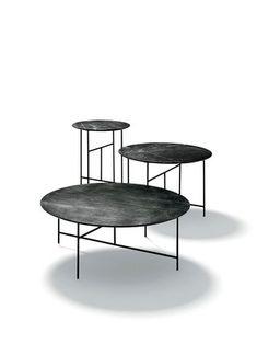 De Padova Sen Round Coffee Table by Kensaku Oshiro