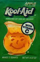 apple koolaid was great!!
