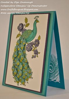 Stampin'Up Perfect Peacock