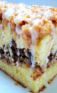The BEST Damn Coffeecake Ever Recipe ~ its just heavenly