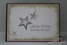 Stampin' Up! Birthday Card with stars
