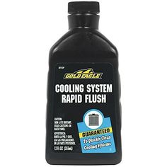 Gold Eagle RF12P Cooling System Rapid Flush, 12 Fl oz. Style: RF12P, Model: RF12P, Car & Vehicle Accessories / Parts. Safe for aluminum, steel, iron, copper, brass, plastic and rubber parts. Does not require a neutralizer. Comparable with all coolants including regular and extended life antifreeze. Guaranteed to quickly clean harmful rust, scale, and other deposits in cooling systems. Can be used with old antifreeze before draining.